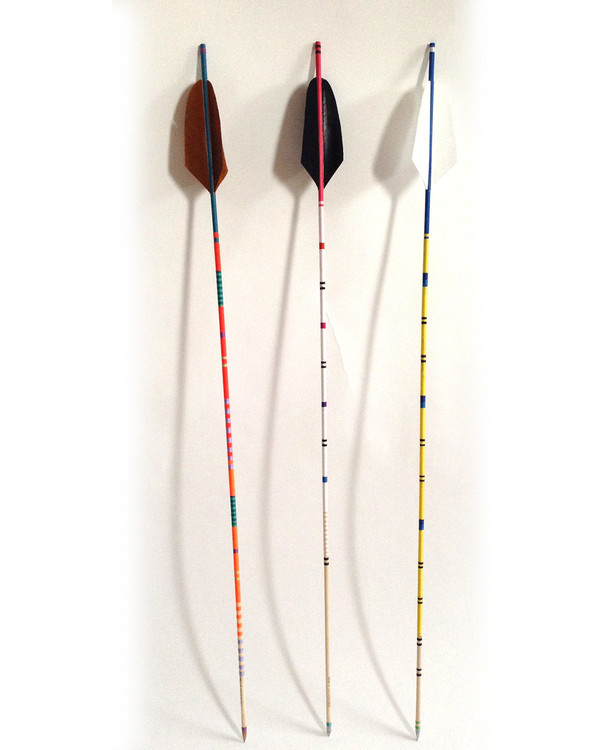 Fredericks & Mae White Feather Arrow