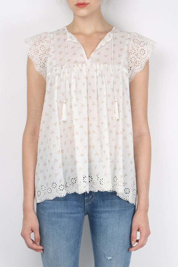 Ulla Johnson Mae Blouse