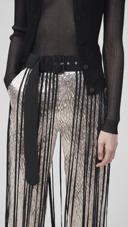 Rachel Comey Spaghetti Skirt - Black Silk Crepe