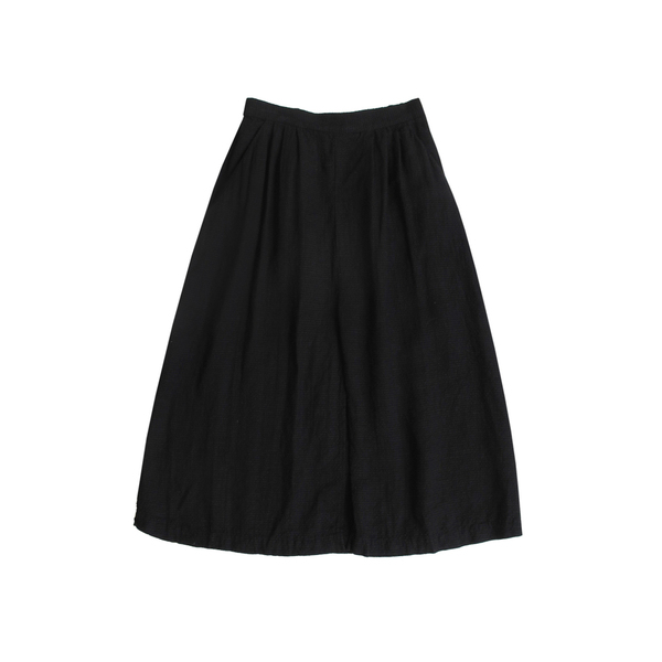 FIRSTRITE PLEATED SKIRT - BLACK 2