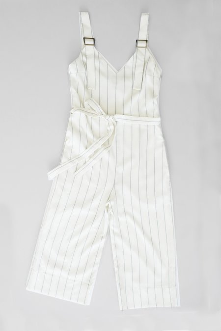 OhSevenDays Friday Belted Jumpsuit