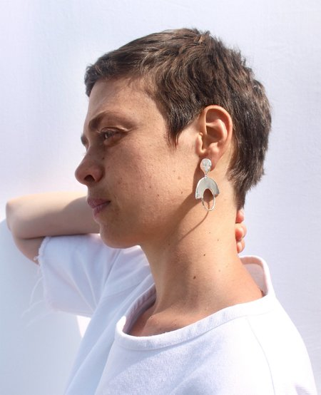 Ora-C CLEOPATRA earrings - silver