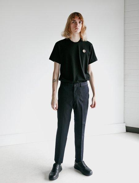 Comme des Garçons Homme Deux Wool Gabardine Tailored Pants - Navy