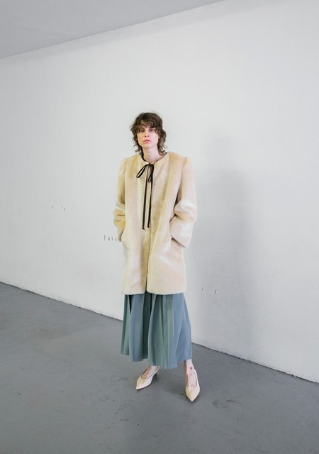 MR. LARKIN IDA FUR JACKET - NATURAL