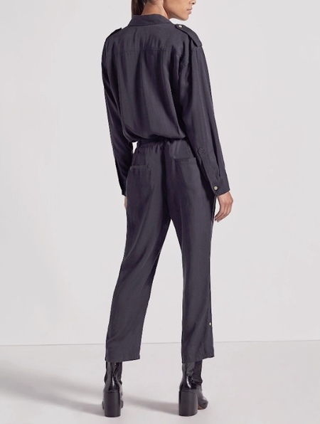 Current Elliott Kaya Overall - Washed Out Black