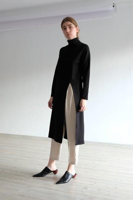 OhSevenDays Roller Shirt Dress - Black