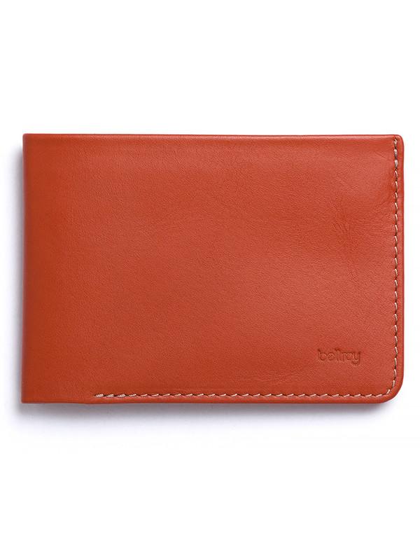 Men's Bellroy Low Down Wallet Tamarillo