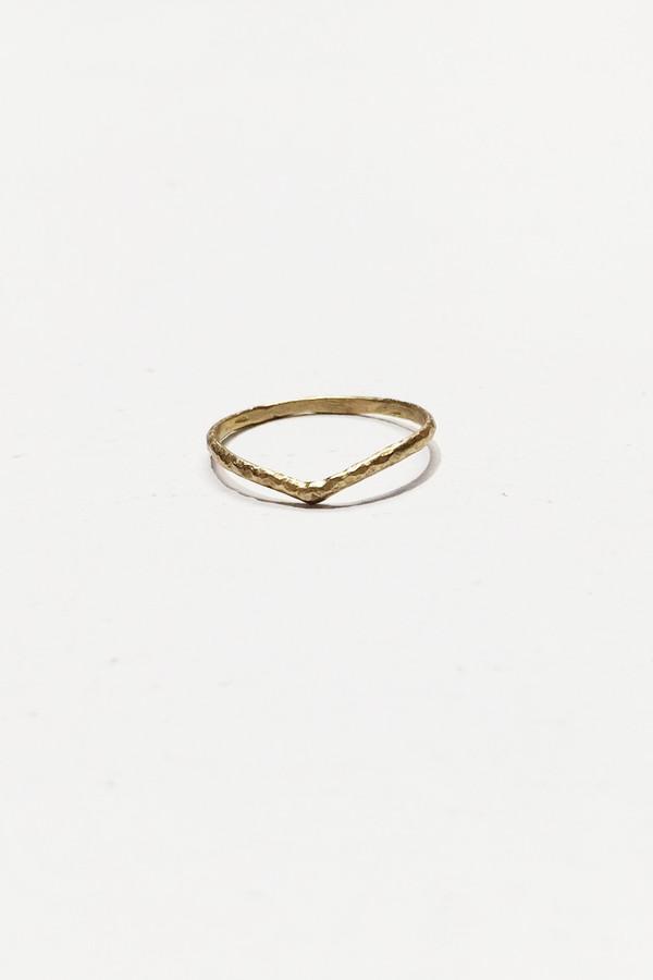 Nettie Kent Jewelry Astrid Ring - Brass