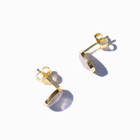 MING YU WANG Berry Earrings - 18K Gold Plated