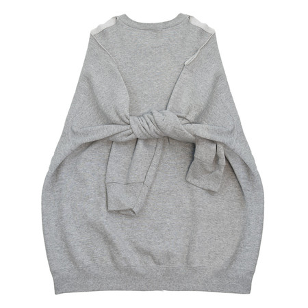Slow and Steady Wins the Race Detached Sleeve in Grey