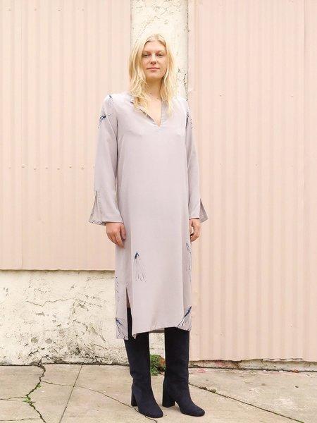 Erica Tanov nava dress - pine