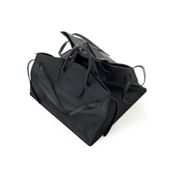 Four Sided Rectangular Bag in Black