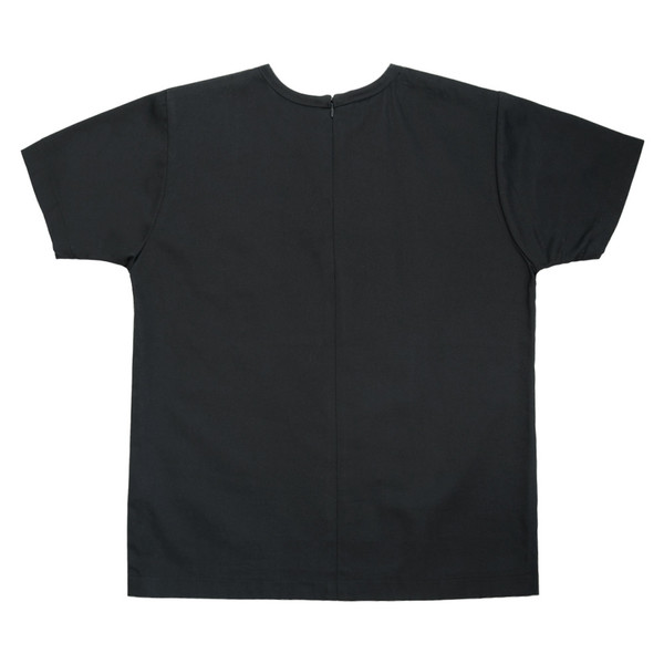 Slow and Steady Wins the Race White T-Shirt in Black Denim