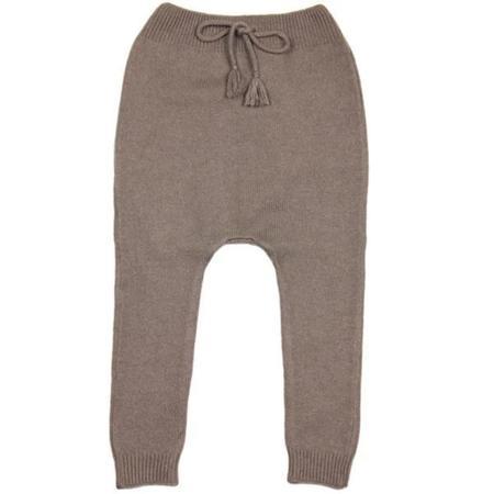 KIDS belle enfant cashmere leggings - truffle