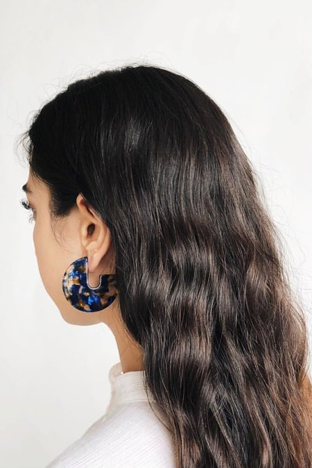 Sundaramar Pacific Kat Earrings
