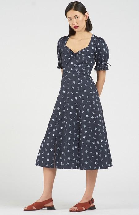 Again & Again The Sunrise Dress Organic Cotton - Floral