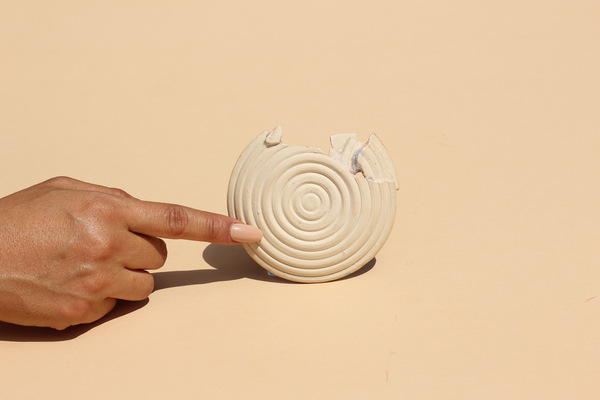 Minhs Little Pot Shop of Curiosities DILAPIDATED ICELAND DISH made in collaboration with Object and Totem