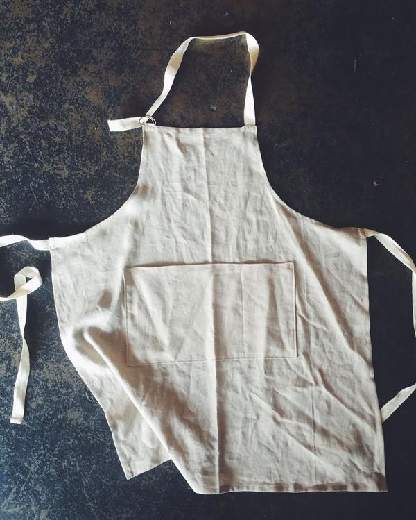 Julian Rowan Handmade Linen Cook's Apron