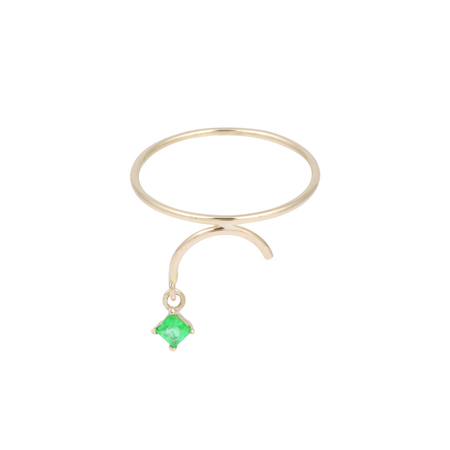 Tara 4779 ARC ring - Emerald