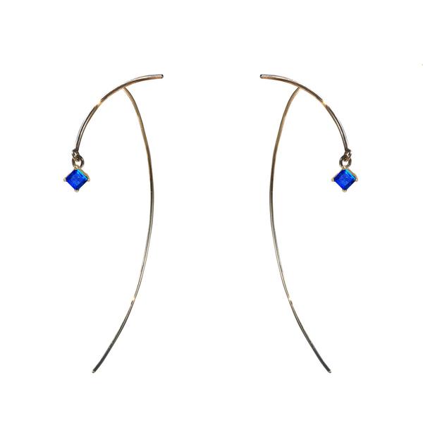 "Tara 4779 ARC ""Stabile"" Earrings - Sapphire"
