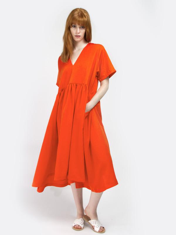 Henrik Vibskov Very Red Very Dress