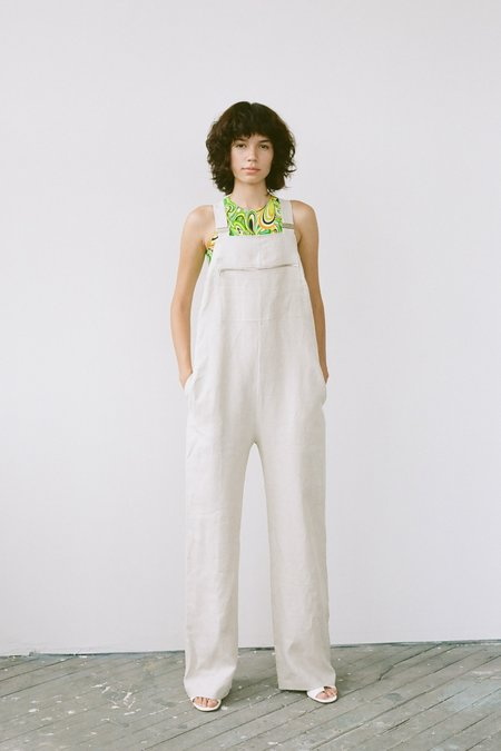Nomia Overall jumpsuit - Flax