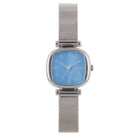 Komono - Moneypenny Royale Watch - Silver / Light Blue
