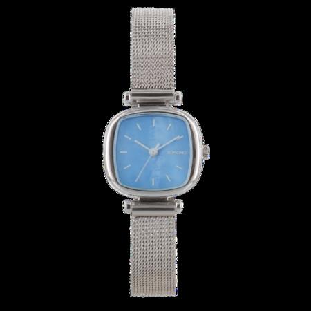 Komono - Moneypenny Royale Watch - Silver / Light Blue