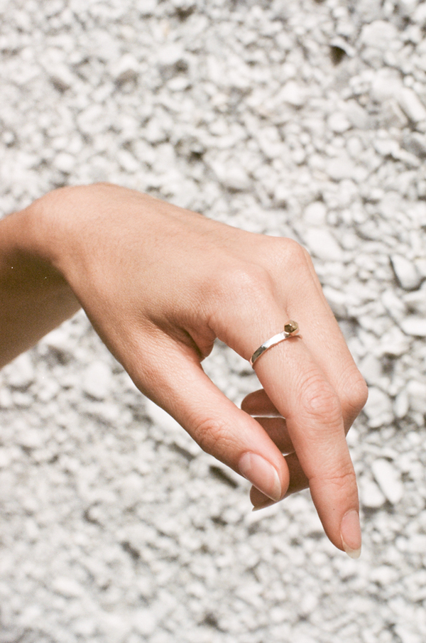 Open House Bhutan Ring - silver/gold