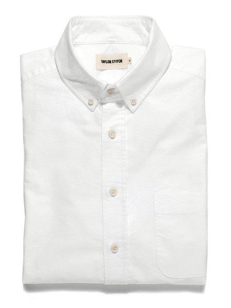 Taylor Stitch The Everyday Oxford Jack Shirt - White