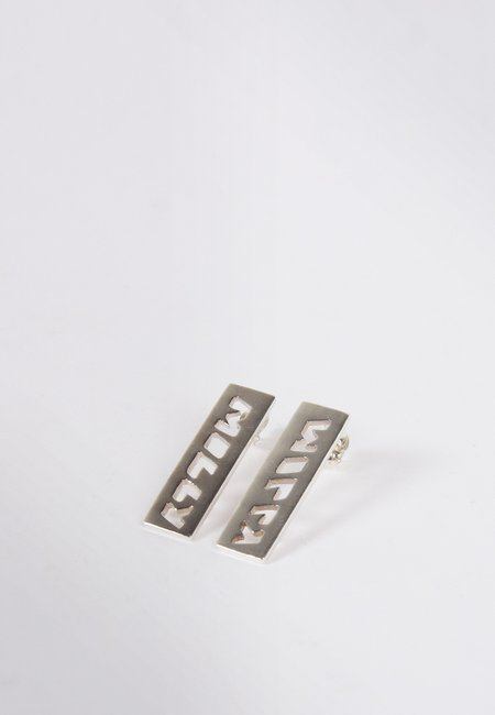 27mollys Molly Bar Earrings - silver