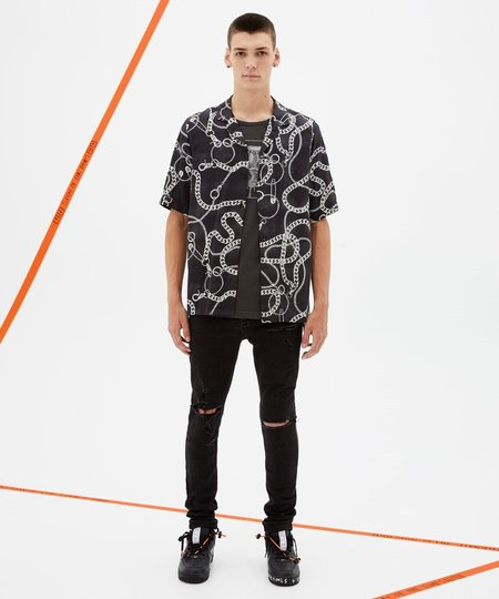 Ksubi Heavy Metal Resort Short Sleeve Shirt - Black Assorted