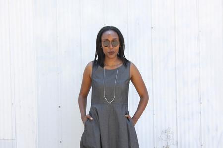 Amanda Moss Pindot Dress