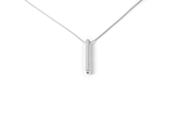 The Sum The Round Diamond Pendant