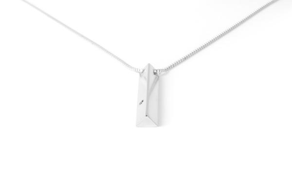 The Sum The Edge Diamond Pendant