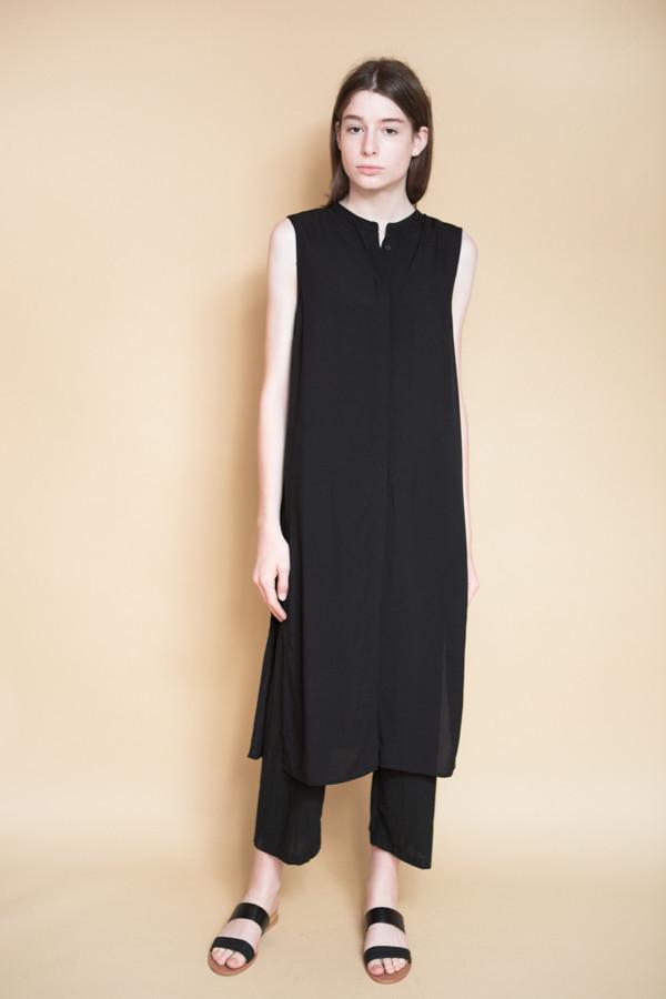 Just Female Marina Long Shirt / Black