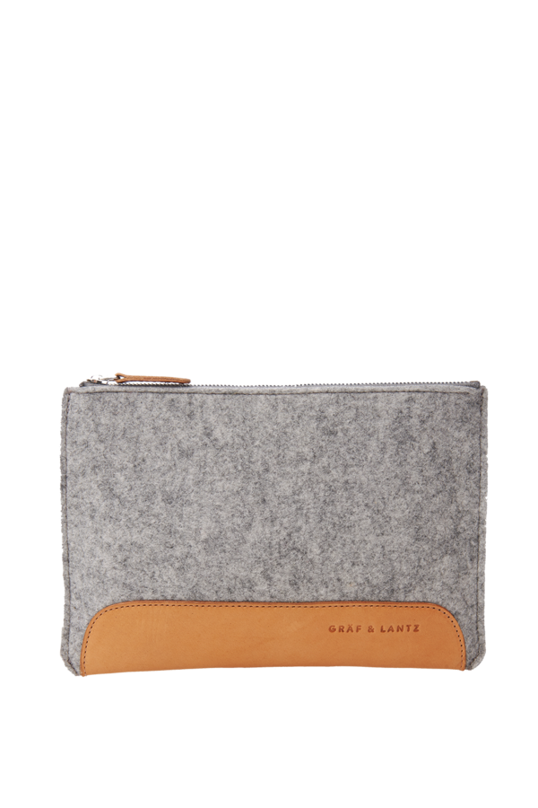 Andie pouch grey