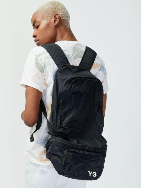 Unisex Y-3 Packable Backpack - Black
