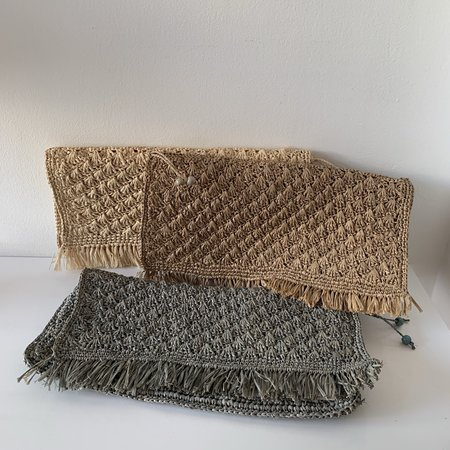 BEFORE MARCH Fringe clutch