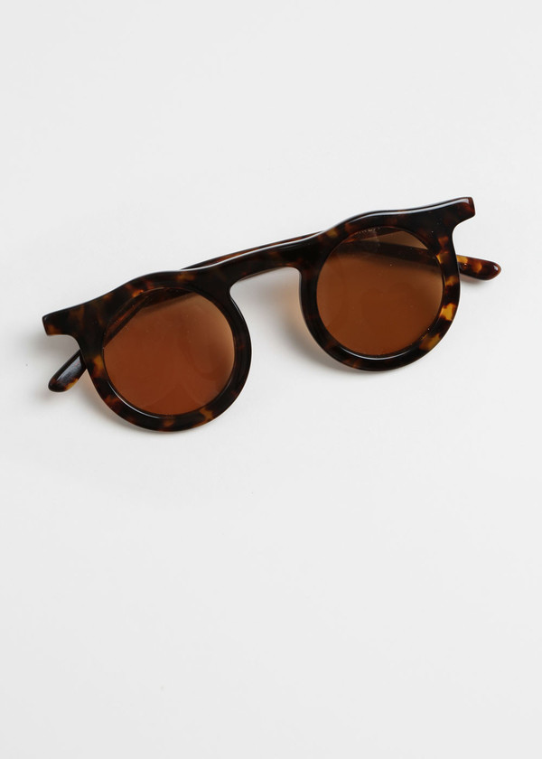 Carla Colour Lind Sunglasses in Hawksbill+Sandstorm