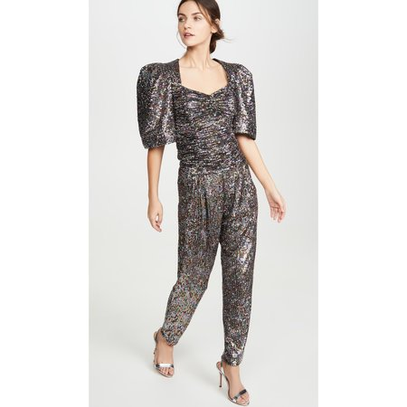 Iorane Confetti Sequin Pants - multi