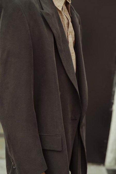 Martine Rose Asher Modal Long Tailored Jacket