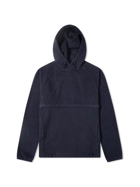 Les Basics Le Ribless Hoodie - Navy