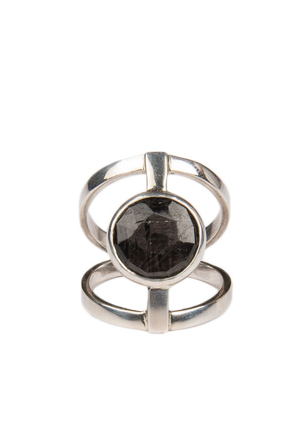 Reason & Madness Jewelry - Hypersthene Ring in Silver