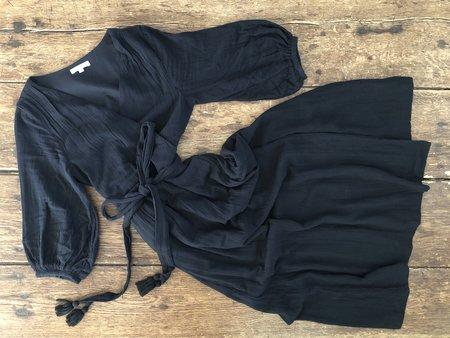 Voloshin Louisa Wrap Dress - Black