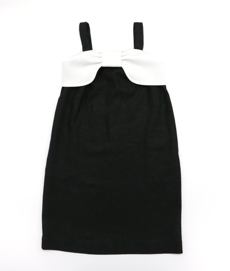 kids TRESSY Betty Bow Dress - black