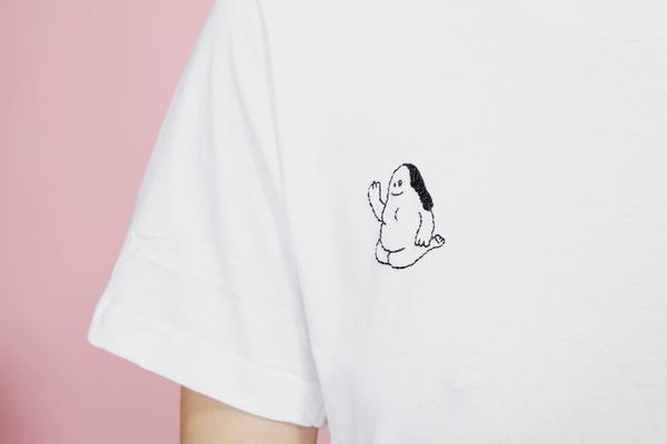 Camilla Engstrom Husa Hello T-shirt