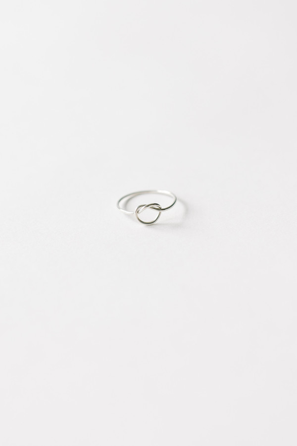 Bario Neal Knotted Rush Ring