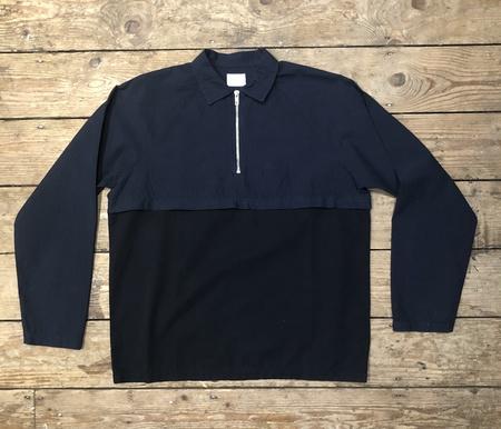 Les Basics Le Sports Shirt - Navy