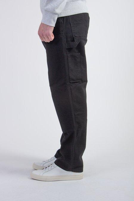 CARHARTT WIP Double Knee Pant - Black Rinsed